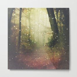 Forest of Miracles and Wonder Metal Print