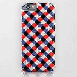 American Gingham iPhone Case