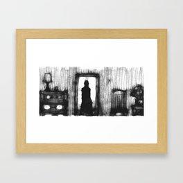 Did you love me? Framed Art Print