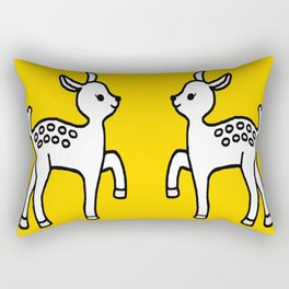 Happy Bambi Rectangular Pillow