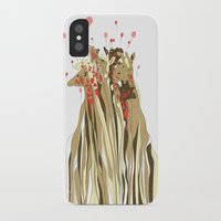 tangled iPhone & iPod Cases featuring Tangled by Julia Kisselmann