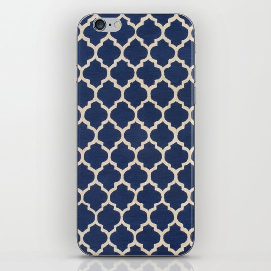 VINTAGE in NAVY iPhone & iPod Skin