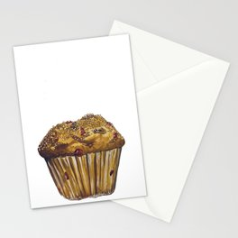 Cranberry Muffin Stationery Cards