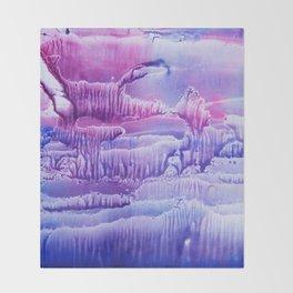 blue underwater world 2 Throw Blanket