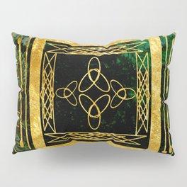 Folk Art Deco Pillow Sham