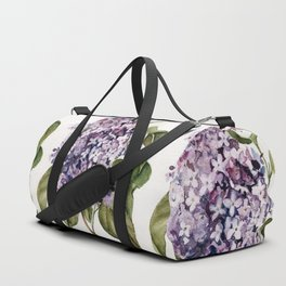 Lilac Branch Duffle Bag