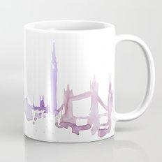 Watercolor landscape illustration_London Mug