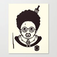 potter Canvas Prints featuring Potter by Ryder Doty