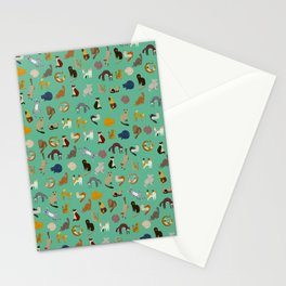 Kitties everywhere Stationery Cards