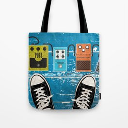 Guitar Music Effect Pedals Tote Bag