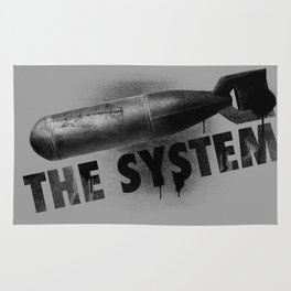 Bomb the System Rug