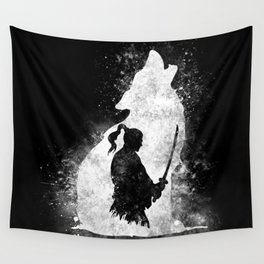 The Lone Samurai Wall Tapestry