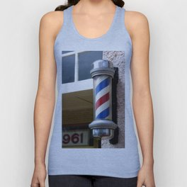 Barber Sign Unisex Tank Top