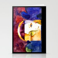madonna Stationery Cards featuring Lady Madonna by Ecsentrik