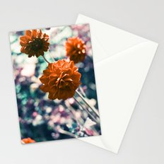 an angel's kiss in spring Stationery Cards