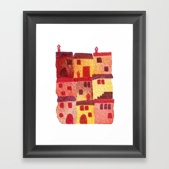 Tuscan Holiday Framed Art Print