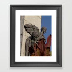 Fallen angels Framed Art Print