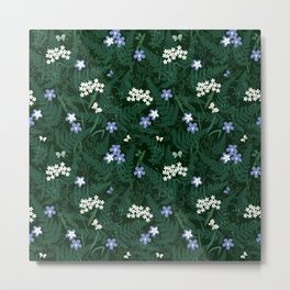 forest herbs Metal Print