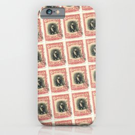 Old Iranian Stamp iPhone Case