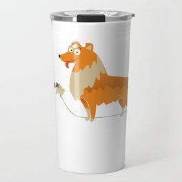 Collie Gift Idea Travel Mug