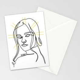 her glow Stationery Cards