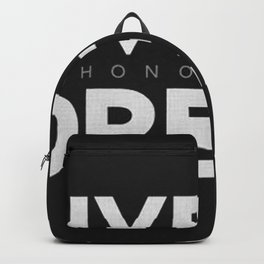 Live His Dream Backpack
