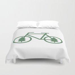 Pacific Northwest Cycling - Bike, Bicycle, Portland, PDX, Seattle, Washington, Oregon, Portlandia Duvet Cover