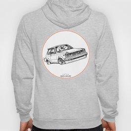 Crazy Car Art 0194 Hoody