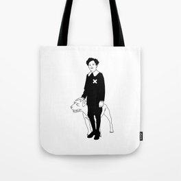 Dog Dick Web Site Tote Bag