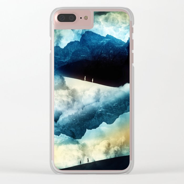 State of isolation Clear iPhone Case