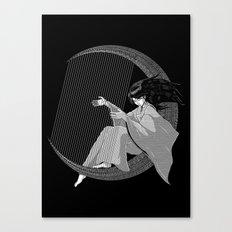 Crescent Melody Canvas Print
