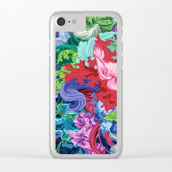Abundantia Clear iPhone Case