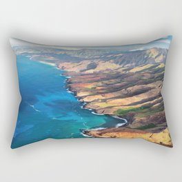 North Na Pali Coast Rectangular Pillow