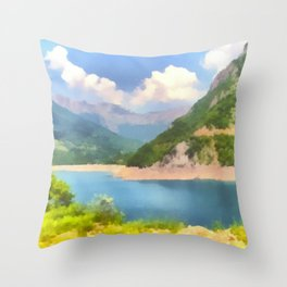 Something To See Throw Pillow