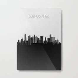 City Skylines: Buenos Aires Metal Print