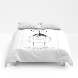 Birthday Bird Comforters