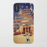 pyramid iPhone & iPod Cases featuring Pyramid by Cs025