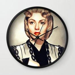Lana Turner, Vintage Actress Wall Clock