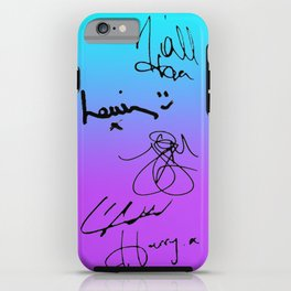 One Direction Signatures iPhone Case