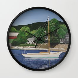 Southwest Harbor, Maine Wall Clock