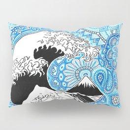 Kanagawa's wave Pillow Sham