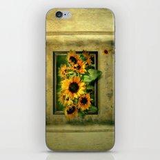 Der Sonnenblumenraum iPhone Skin