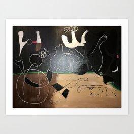 Composition Art Print