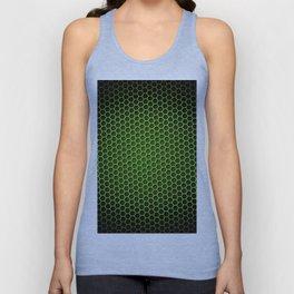 Honeycomb Background Green Unisex Tank Top