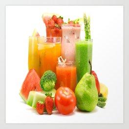 juice Art Print
