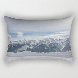 Wunderfull Snow Mountain(s) 3 Rectangular Pillow
