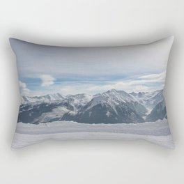 Wunderfull Snow Mountain(s) 3 Rectangular Pillow