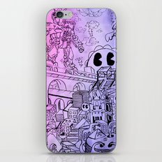 Funky Town pt. 1 iPhone & iPod Skin