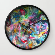 REM white noise Wall Clock