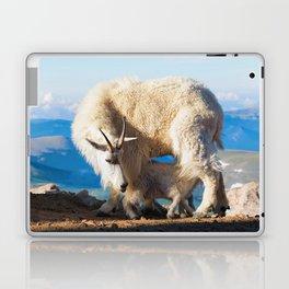 Mountain Goats Nanny And Kid Laptop & iPad Skin